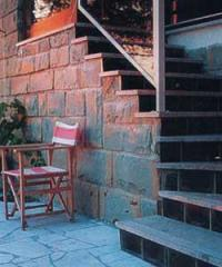 Basalt tile for floors in pubs, bars, restaurants,