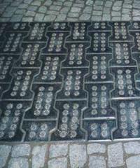 Плитка тротуарная базальтовая