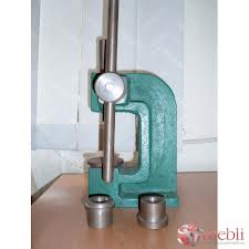 The machine and nozzles for production of buttons,