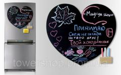 Magnetic boards on the refrige