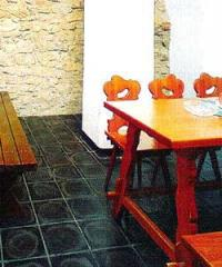 Basalt tile for floors in kitchens from the