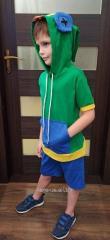 Детский костюм ZaKo Леон Бравл Старс 116 размер