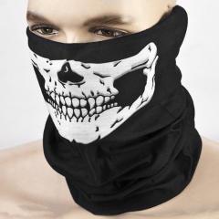 Бафф для лица с черепом