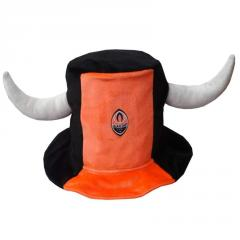 The fan's cap, football souvenirs, the fan