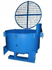 To buy concrete mixers of compulsory action
