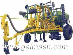 Car sowing zernotukovy MELANIJA MVZ-4,5