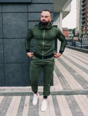Мужской спортивный костюм BD35888 рM хаки