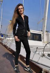 Спортивный костюм женский GF00702 р42/44 черный