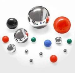 Spheres glass