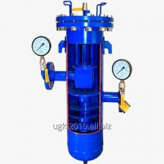 Filter separator for liquefied gas (LPG)