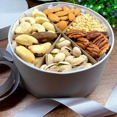 Набор орешков с пеканом и кедровым, 600 грамм в