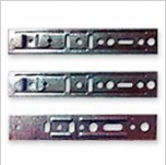 Anchor plates with a clip, anchor plates for