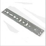 Anchor plates for doors and windows