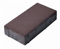 Тротуарна плитка цеголка
