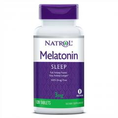 Мелатонин,  Melatonin 3 мг,  Natrol,  120...