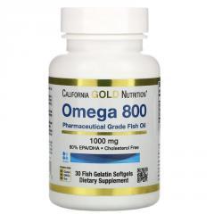 Омега 800,  Рыбий жир фармацевтического...
