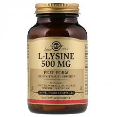 L-Лизин,  L-Lysine,  Solgar,  500 mg,  100...