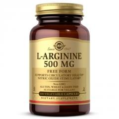 L-Аргинин 500 мг,  L-Arginine,  Solgar,  100...