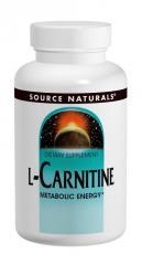 L-Карнитин Фумарат 250 мг,  Source Naturals,...