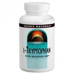 L-Триптофан,  500 мг,  Source Naturals,  30...