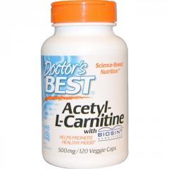 Ацетил L-Карнитин 500мг,  Biosint,  Doctor's...