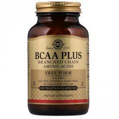 Аминокислоты BCAA плюс,  BCAA Plus,  Solgar,...