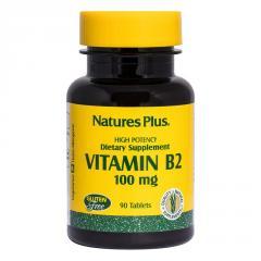 Рибофлавин,  B-2,  Nature's Plus,  100 мг, ...