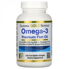 Омега-3,  рыбий жир премиального качества, ...