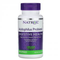 Пробиотики Acidophilus,  1 Billion,  Natrol,...