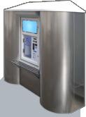 Киоск-автомат для продажи воды