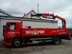 Услуги доставки грузов с помощью