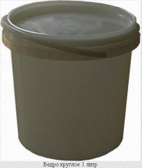Полипропиленовая тара, Ведро круглое пластиковое 1