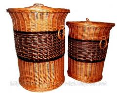 Набор корзин для белья 2 шт  Код УБ-151