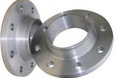 Flanges are welded