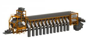 Agglomerative car conveyor-based