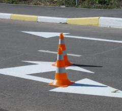 Cone road flexible