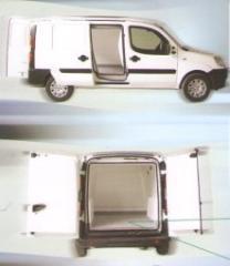 Heat insulation (warming) of all-metal vans