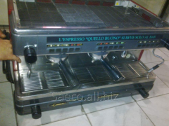 Professional second-hand coffee machines (gas and