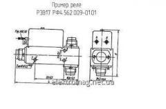 Реле РЭВ-17 РФ4.562.009-01