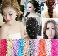 Бусы для украшения волос(цвета)