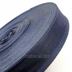 Темно-синяя тесьма сумочная-ременная, 3см (657-Л-0766)