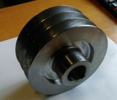 Шкив трехручейный (наружный диаметр 150 мм, ...