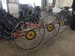Сеноворошилка Солнышко на 3 колеса ТМ АРА (3...