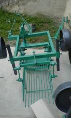 Картофелекопалка тракторная вибрационная...
