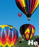 Helium (He).