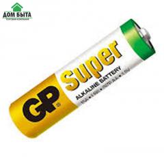 Батарейка пальчиковая GP Super alkaline (AA, LR06)
