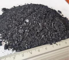 Чистый отсев древесного угля 0-5 мм
