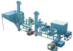 The equipment OVOR-450, productivity on seeds of