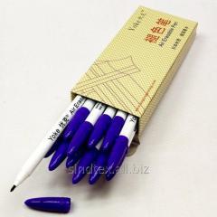 Исчезающий (водорастворимый) маркерYoke для ткани, фиолетовый (653-Т-0787)