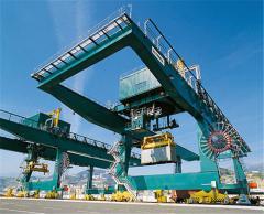Rear container cranes (RMG)
